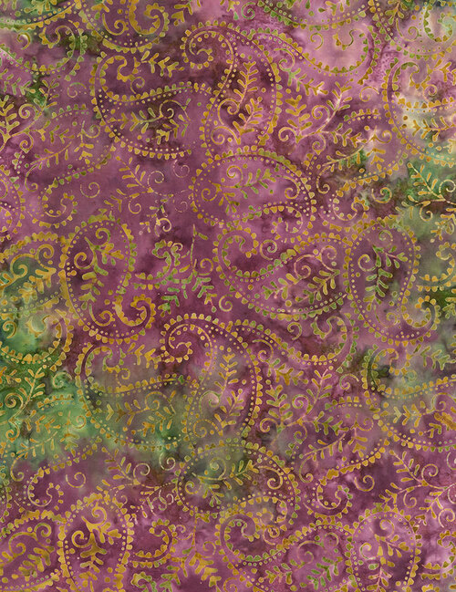 Cotton Print Yarmulkes Paisley Batik - LUSH