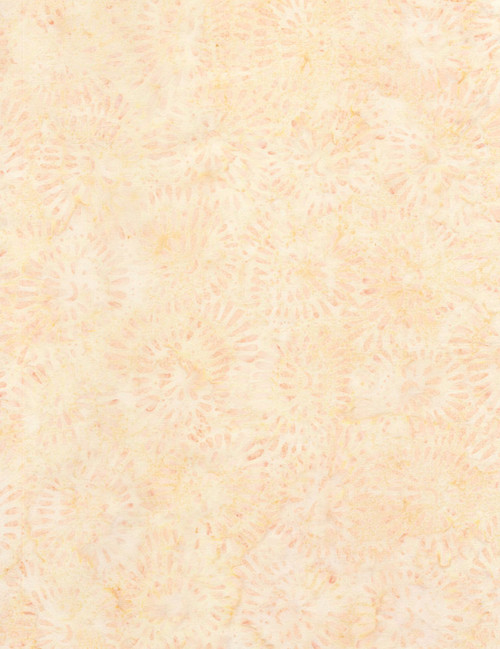 Cotton Print Yarmulkes Bead Flowers Batik - SHELL