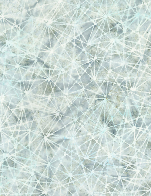 Cotton Print Yarmulkes Splatter Batik - ICE