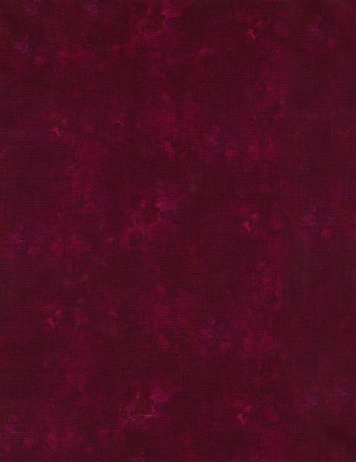 Cotton Print Yarmulkes Solid-ish Basic - WINE