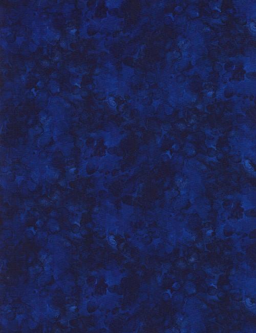 Cotton Print Yarmulkes Solid-ish Basic - OCEAN