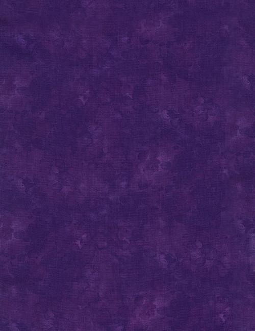 Cotton Print Yarmulkes Solid-ish Basic - VIOLET