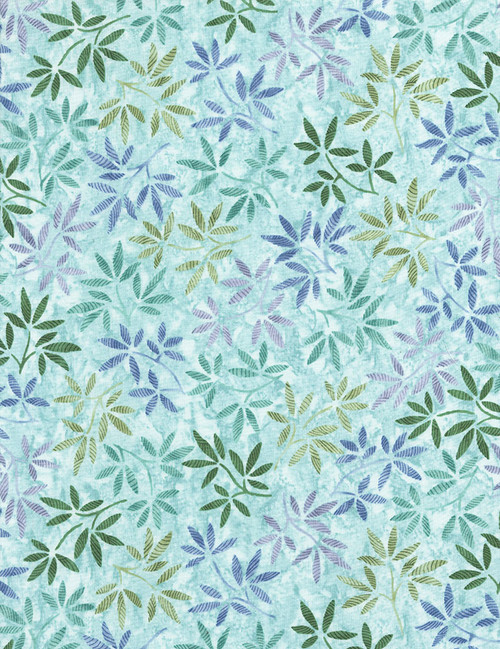Cotton Print Yarmulkes Wildflowers - SEA