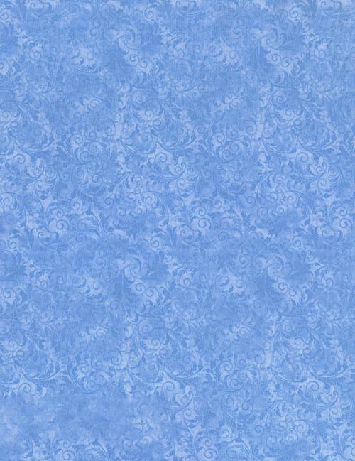 Cotton Print Yarmulkes Tonal Filigree - WAVE