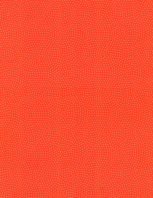 Cotton Print Yarmulkes Spin Basic - CORAL