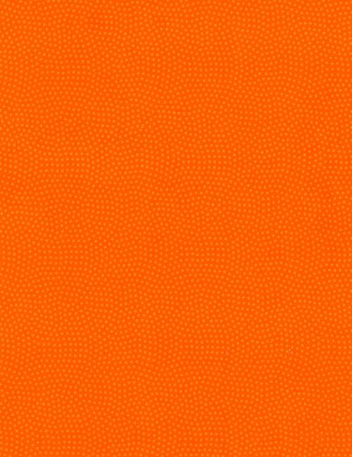 Cotton Print Yarmulkes Spin Basic - ORANGE