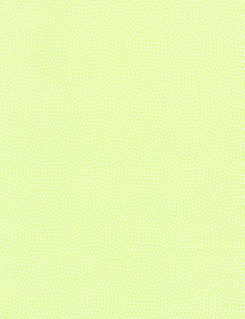 Cotton Print Yarmulkes Spin Basic - CELERY