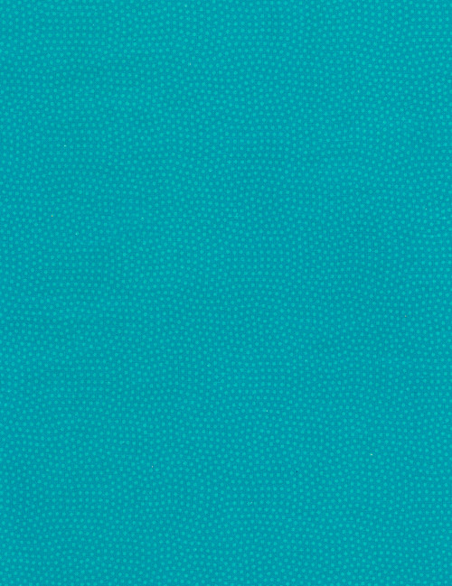 Cotton Print Yarmulkes Spin Basic - TURQ
