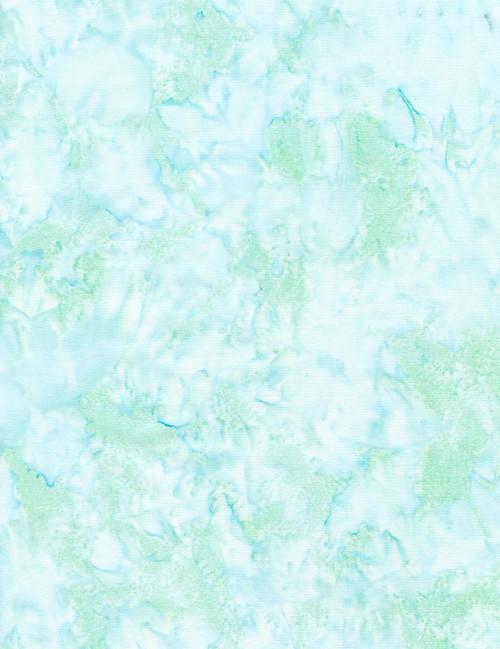 Cotton Print Yarmulkes Java Blender Batik Basic - SURF