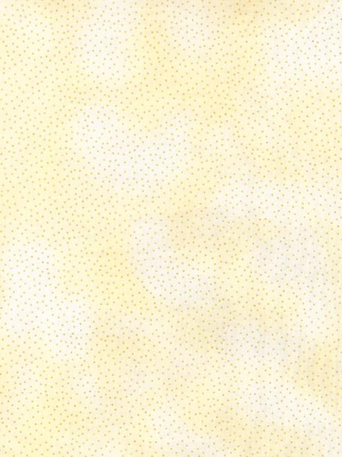 Cotton Print Yarmulkes Metallic Pin Dots - CREAM