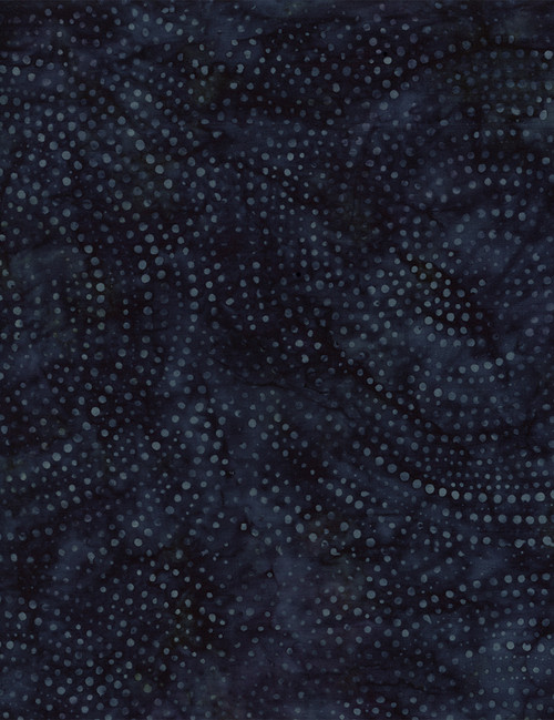 "Cotton Print Yarmulkes 106"" Wide Batik Backing - COSMOS"
