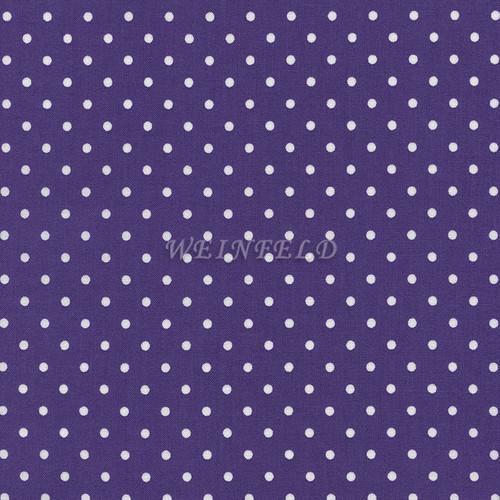 Cotton Print Yarmulkes Dot - Purple