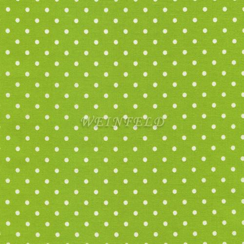 Cotton Print Yarmulkes Dot - Lime