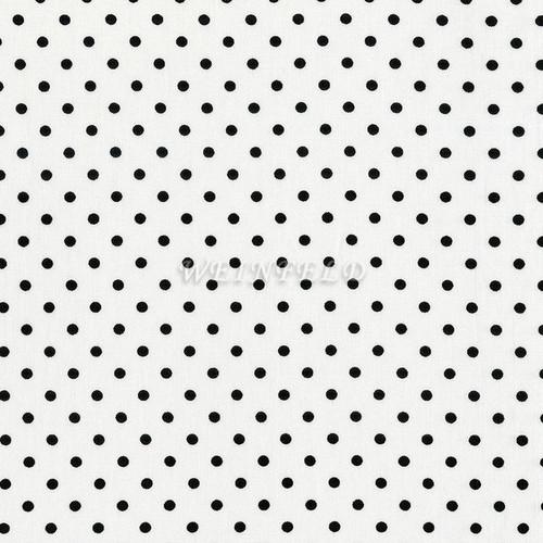 Cotton Print Yarmulkes Dot - White