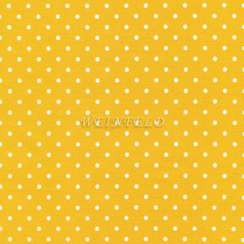 Cotton Print Yarmulkes Dot - Yellow