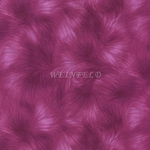 Cotton Print Yarmulkes - Magenta