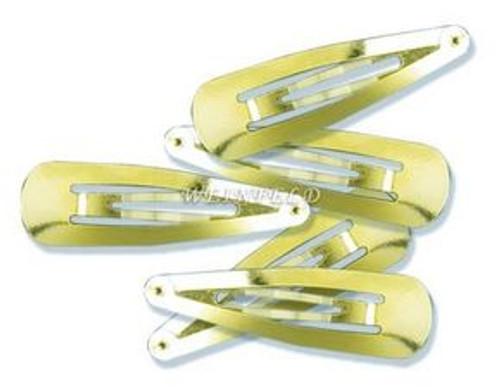 One Dozen Yarmulka Clips - Silver