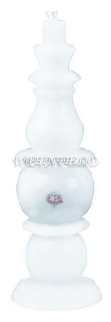 Fancy Havdala Candles In White
