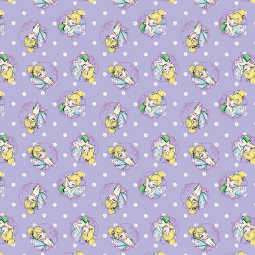 Disney Yarmulkes Cotton - TOSS - Tinkerbell