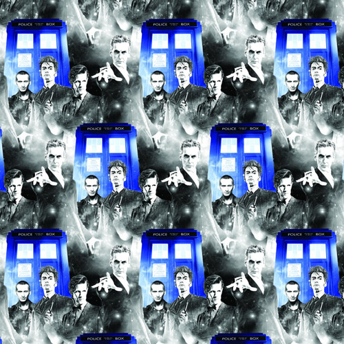 Doctor Who Yarmulkes Cotton - Police Public Call