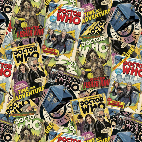 Doctor Who Yarmulkes Cotton - TOSS - Comic Book