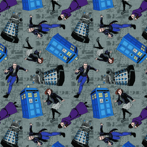 Doctor Who Yarmulkes Cotton - TOSS - Character