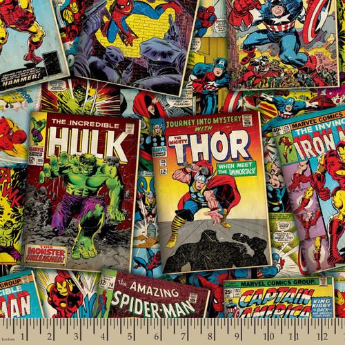 Marvel Yarmulkes Cotton - Comics Comic Covers