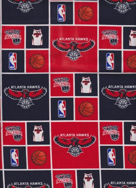 NBA Basketball Yarmulkes Cotton - Atlanta Hawks