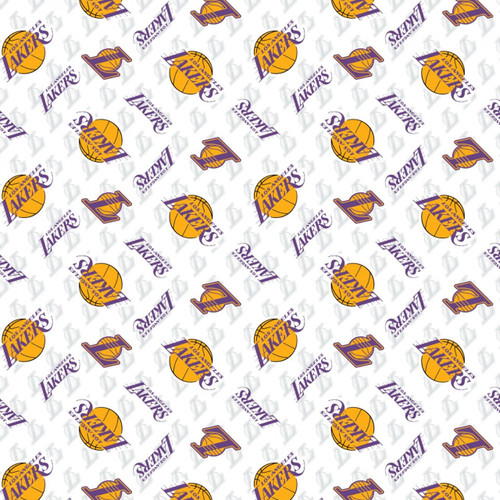 NBA Basketball Yarmulkes Cotton - LA Lakers