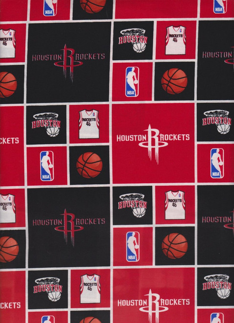 NBA Basketball Yarmulkes Cotton - Houston Rockets Rokts