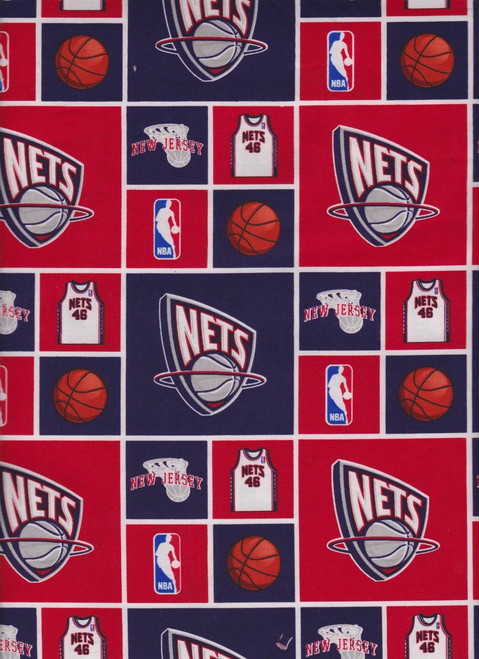 NBA Basketball Yarmulkes Cotton - New Jersey Nets
