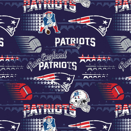 NFL Football Yarmulkes Cotton - NEP - New England Patriots