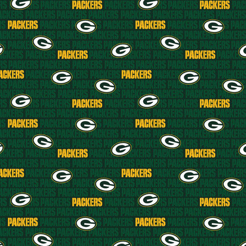 NFL Football Yarmulkes Cotton - GBP 1 - Green Bay Packers