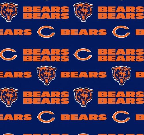 NFL Football Yarmulkes Cotton - CHI - Chicago Bears