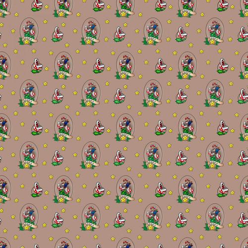 Nintendo Super Mario Yarmulkes Cotton - Lucky Mario
