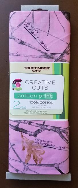 True Timber Yarmulkes Cotton - Camo Snowfall - Pink