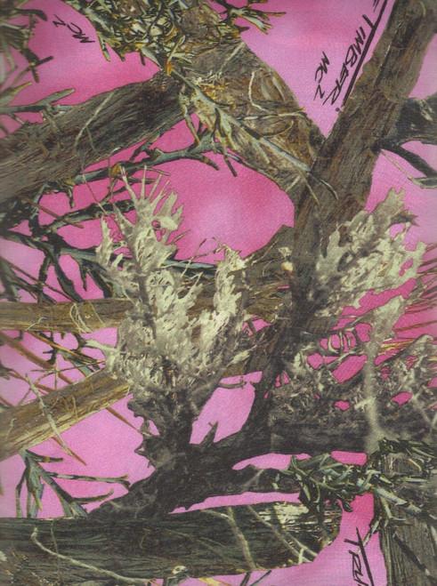 True Timber Yarmulkes Polyester - Satin Camo MC2 - Pink
