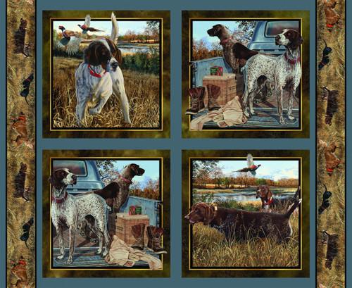 Wild Wings Yarmulkes Cotton - PILLOW - Dog Days