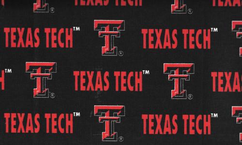 NCAA - Twill Yarmulkes - Texas Tech