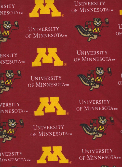 NCAA - Twill Yarmulkes - Minnesota Golden Golphers