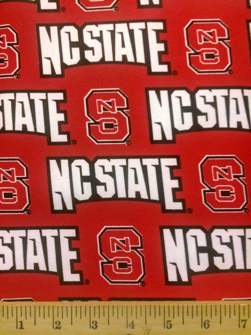 NCAA - Twill Yarmulkes - NC State Wolfpack