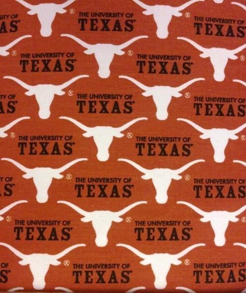 NCAA - Twill Yarmulkes - Texas Longhorns
