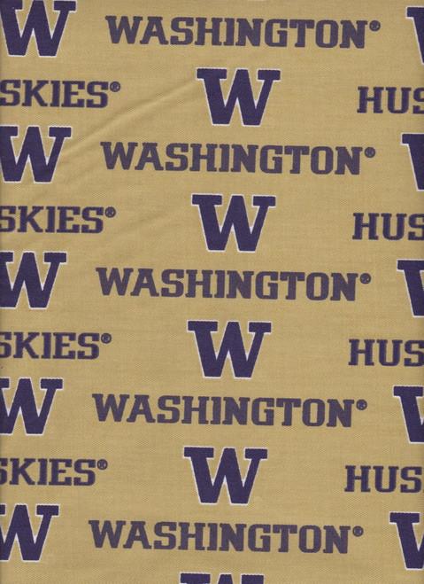 NCAA - Twill Yarmulkes - Washington Huskies
