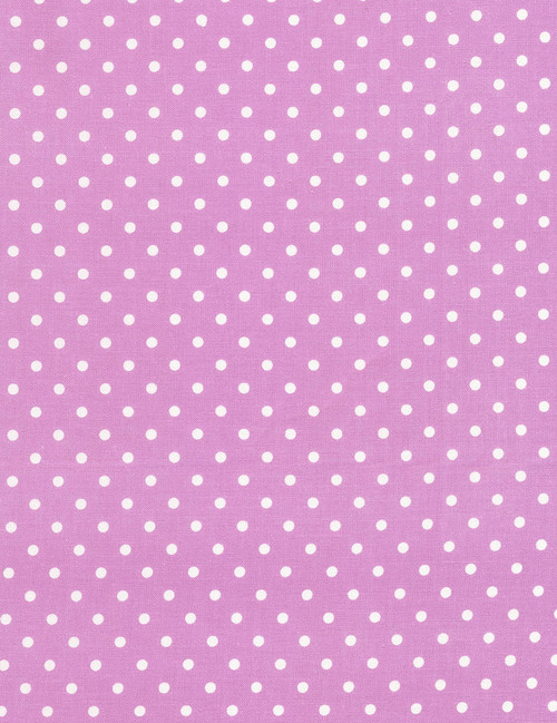 Cotton Print Yarmulkes Dot - LILAC