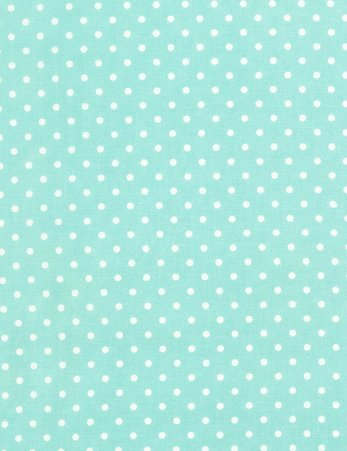 Cotton Print Yarmulkes Dot - MINT