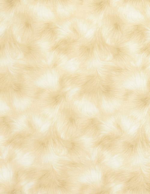 Cotton Print Yarmulkes Texture - LATTE