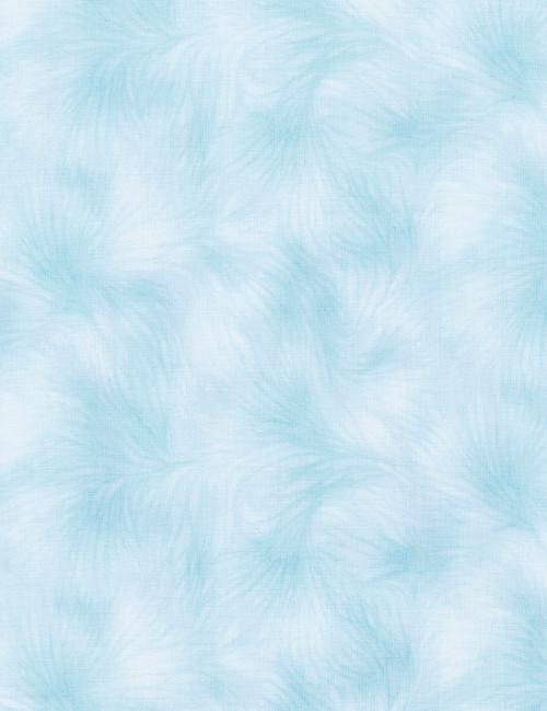 Cotton Print Yarmulkes Viola Basic - SKY