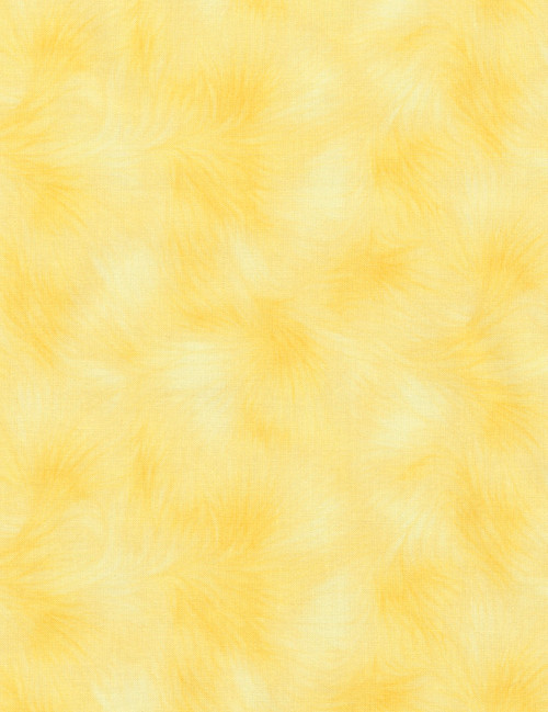 Cotton Print Yarmulkes Viola Basic - LEMON