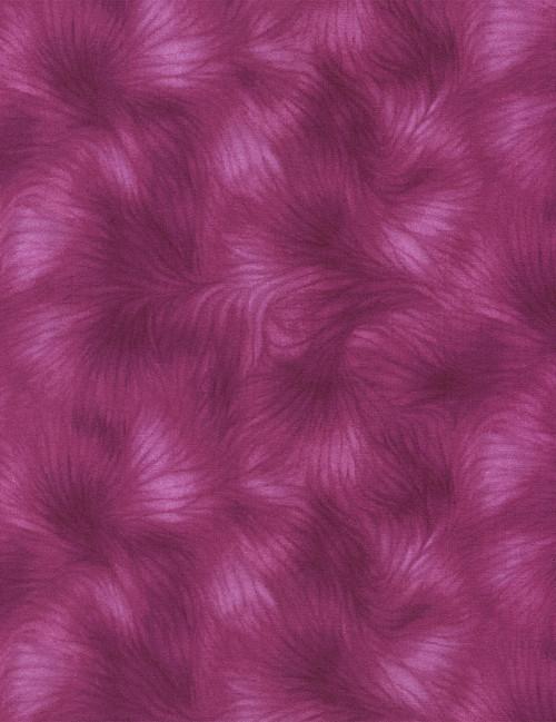 Cotton Print Yarmulkes Viola Basic - MAGENTA