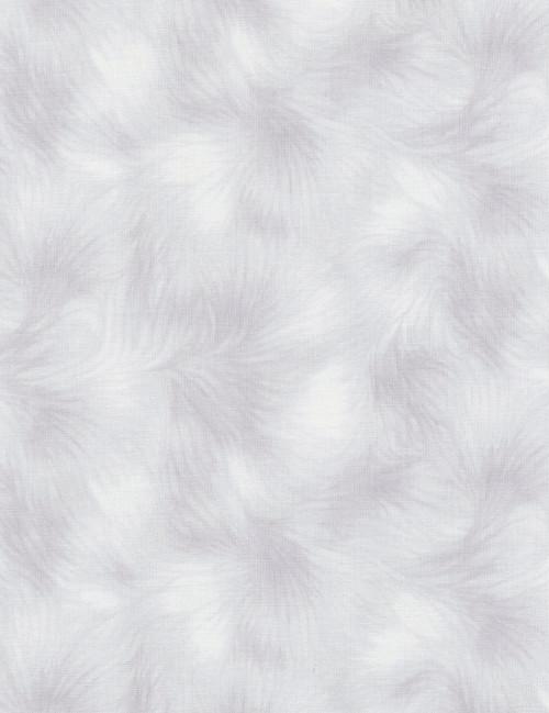 Cotton Print Yarmulkes Viola Basic - SILVER